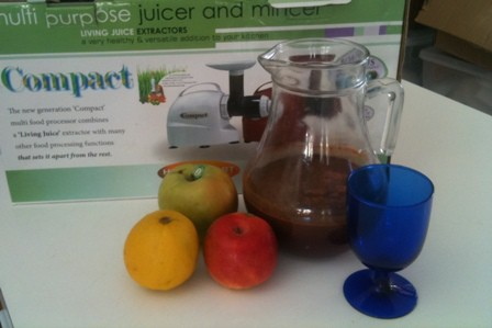 Juice fast for detox
